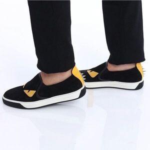 FENDI | Monster Slip-on Sneakers